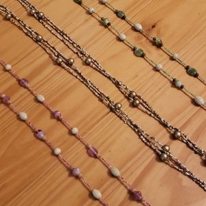 Beaded Necklaces, Perfect for layering togther